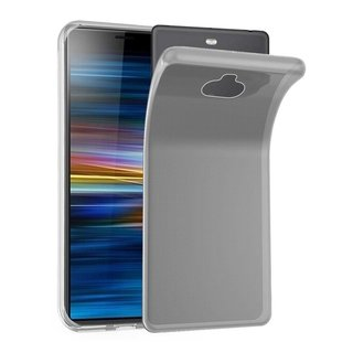 Cadorabo Hülle für Sony Xperia 10 in VOLL TRANSPARENT ?...