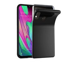 Cadorabo Case works with Samsung Galaxy A40 in BLACK -...