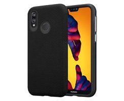 Cadorabo Case works with Huawei P20 LITE in DAHLIA BLACK...
