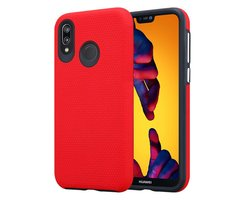 Cadorabo Case works with Huawei P20 LITE in CARNATION RED...