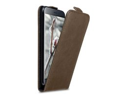 Cadorabo Case works with Asus ZenFone 3 in COFFEE BROWN...