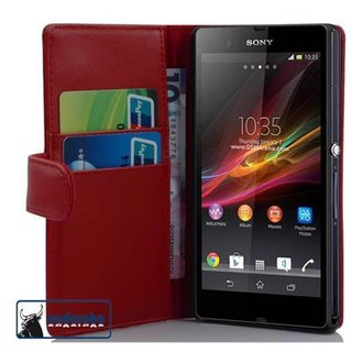 Cadorabo Book Case works with Sony Xperia Z1 in CANDY...