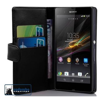 Cadorabo Book Case works with Sony Xperia Z1 in OXID...