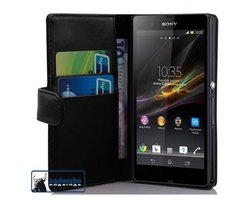 Cadorabo Book Case works with Sony Xperia Z (1. Gen.) in...