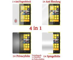 Cadorabo 4 x Screen Protector Pack HQ for > Nokia Lumia...