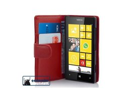 Cadorabo Book Case works with Nokia Lumia 520 in CANDY...