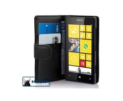 Cadorabo Book Case works with Nokia Lumia 520 in OXID...