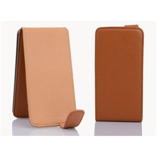 Cadorabo Case works with HTC Butterfly in SADDLE BROWN -...