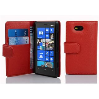Cadorabo Book Case works with Nokia Lumia 820 in CANDY...
