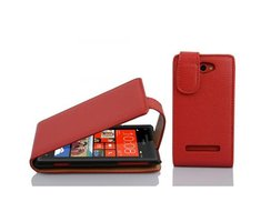 Cadorabo Case works with HTC 8S in CANDY APPLE RED Flip...