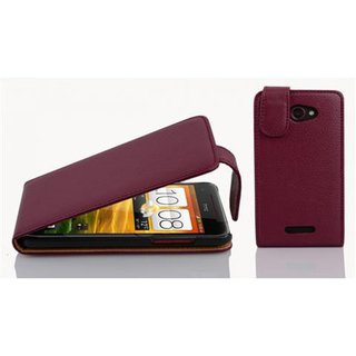 Cadorabo Case works with HTC Butterfly in PASTEL PURPLE -...