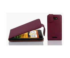 Cadorabo Case works with HTC Butterfly in PASTEL PURPLE...