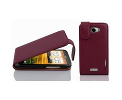 Cadorabo Hülle für HTC ONE X / X+ in BORDEAUX LILA -...