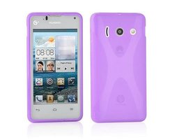 Cadorabo Case works with Huawei ASCEND Y300 in PASTEL...
