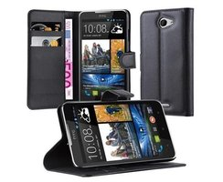 Cadorabo Book Case works with HTC Desire 516 in OXID...