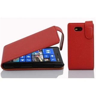 Cadorabo Case works with Nokia Lumia 820 in CANDY APPLE...