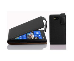 Cadorabo Case works with Nokia Lumia 820 in OXIDE BLACK...