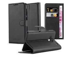 Cadorabo Book Case works with HTC ONE M7 (1. Gen.) in...