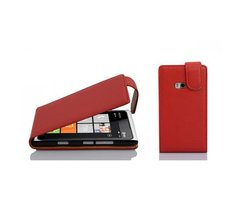 Cadorabo Case works with Nokia Lumia 900 in CANDY APPLE...