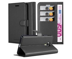 Cadorabo Book Case works with MEIZU MX4 in OXID BLACK...