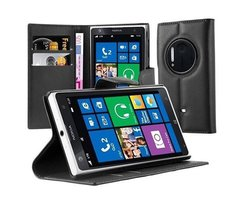 Cadorabo Book Case works with Nokia Lumia 1020 in OXID...