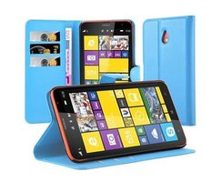 Cadorabo Book Case works with Nokia Lumia 1320 in SKY...