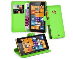 Cadorabo Book Case works with Nokia Lumia 535 in MINT...