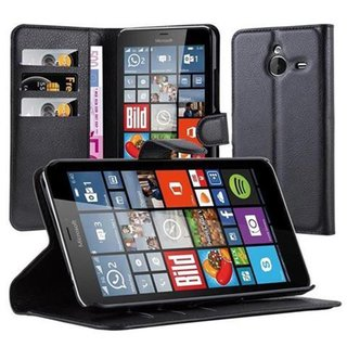 Cadorabo Book Case works with Nokia Lumia 640 XL in OXID...
