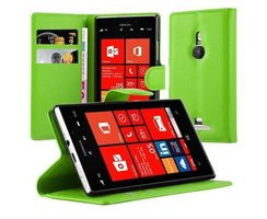 Cadorabo Book Case works with Nokia Lumia 925 in MINT...