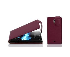 Cadorabo Case works with Sony Xperia T in PASTEL PURPLE -...