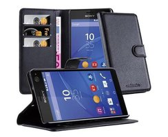 Cadorabo Book Case works with Sony Xperia C4 in OXID...