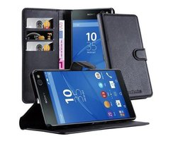 Cadorabo Book Case works with Sony Xperia C5 in OXID...
