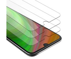 Cadorabo 3x Tempered Glass works with Huawei Y5 2019 in...