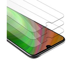Cadorabo 3x Tempered Glass works with Huawei Y6 2019 in...