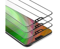 Cadorabo 3x Tempered Glass works with OnePlus 6 in...