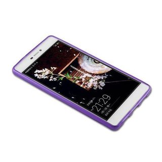 Cadorabo Case works with Huawei P8 LITE 2015 in PASTEL PURPLE - Shockproof and Scratch Resistant TPU Silicone Cover - Ultra Slim Protective Gel Shell Bumper Back Skin