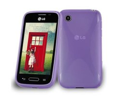 Cadorabo Case works with LG L40 (1. Sim-Version) in...