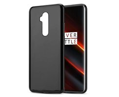 Cadorabo Case works with OnePlus 7T PRO in BLACK -...