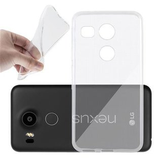 Cadorabo Case works with LG NEXUS 5X in FULLY TRANSPARENT...