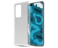 Cadorabo Case works with Huawei P40 in FULLY TRANSPARENT...
