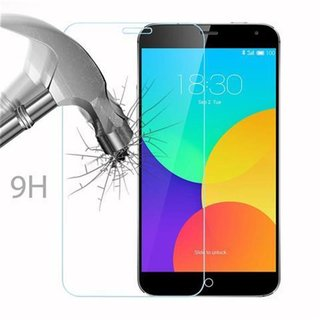 Cadorabo Tempered Glass works with MEIZU MX 4 in HIGH TRANSPARENCY - Screen Protection 3D Touch Compatible with 9H Hardness - Bulletproof Display Saver