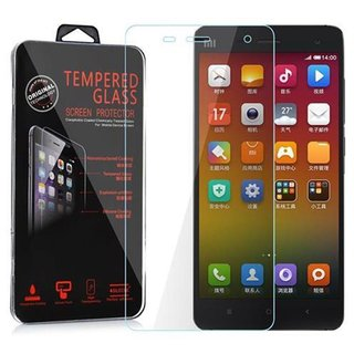 Cadorabo Tempered Glass works with Xiaomi 4 in HIGH TRANSPARENCY - Screen Protection 3D Touch Compatible with 9H Hardness - Bulletproof Display Saver