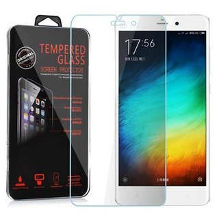 Cadorabo Tempered Glass works with Xiaomi Note in HIGH TRANSPARENCY - Screen Protection 3D Touch Compatible with 9H Hardness - Bulletproof Display Saver