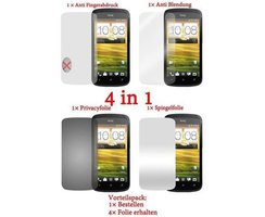 Cadorabo - 4 x Screen Protector Pack HQ for > HTC ONE S <...