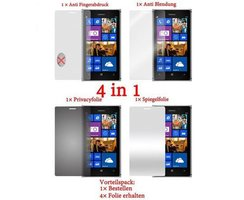 Cadorabo - 4 x Screen Protector Pack HQ for > Nokia Lumia...