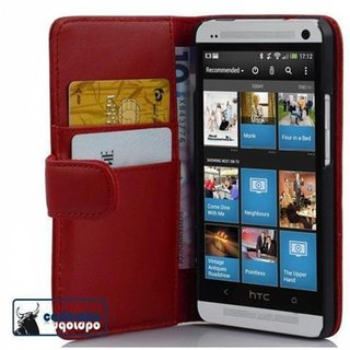 Cadorabo Book Case works with HTC ONE M4 MINI in CANDY...