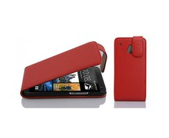 Cadorabo Case works with HTC ONE M4 MINI in CANDY APPLE...