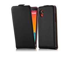 Cadorabo Case works with LG NEXUS 5 in CAVIAR BLACK -...