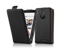 Cadorabo Case works with Nokia Lumia 1520 in CAVIAR BLACK...
