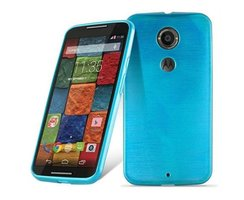 Cadorabo Case works with Motorola MOTO X2 in TURQUOISE...